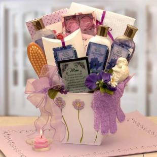 Mom&#39;s Lovely in Lavender Bath &amp; Body Gift Set
