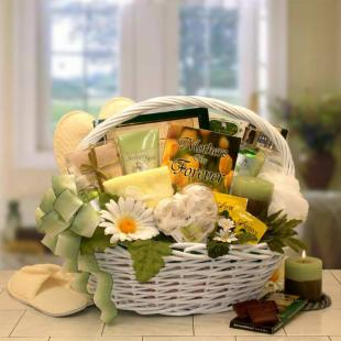 Mothers Are Forever Gift of Relaxation Gift Basket