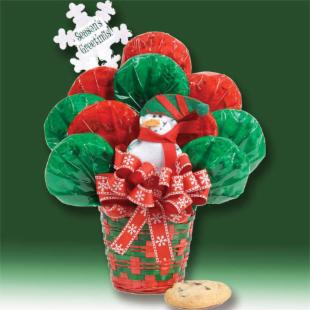 Joy To The Season Holiday Cookie Bouquet