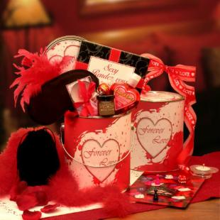 Forever Love Romantic Gift Pail