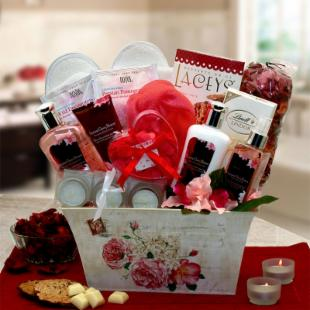 Imperial Japanese Cherry Blossom Spa Gift Basket