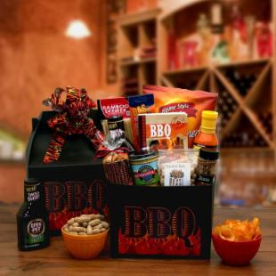 The Barbecue Master Care Package Gift Basket