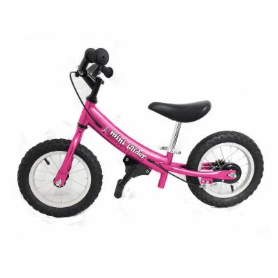  Glide Bikes 12 in. Pink Mini Glider Balance Bike