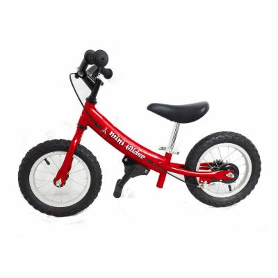  Glide Bikes 12 in. Red Mini Glider Balance Bike