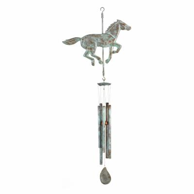 Good Directions Horse Windchime - Blue Verde
