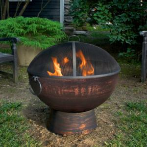 Good Directions 26 in. Fire Bowl with Spark Screen