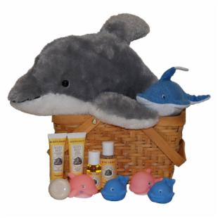 Dolphin Baby Spa Gift Basket