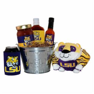 Louisiana State University Tailgate Grilling Gift Basket