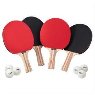 Viper Table Tennis Paddle 4 Player Set
