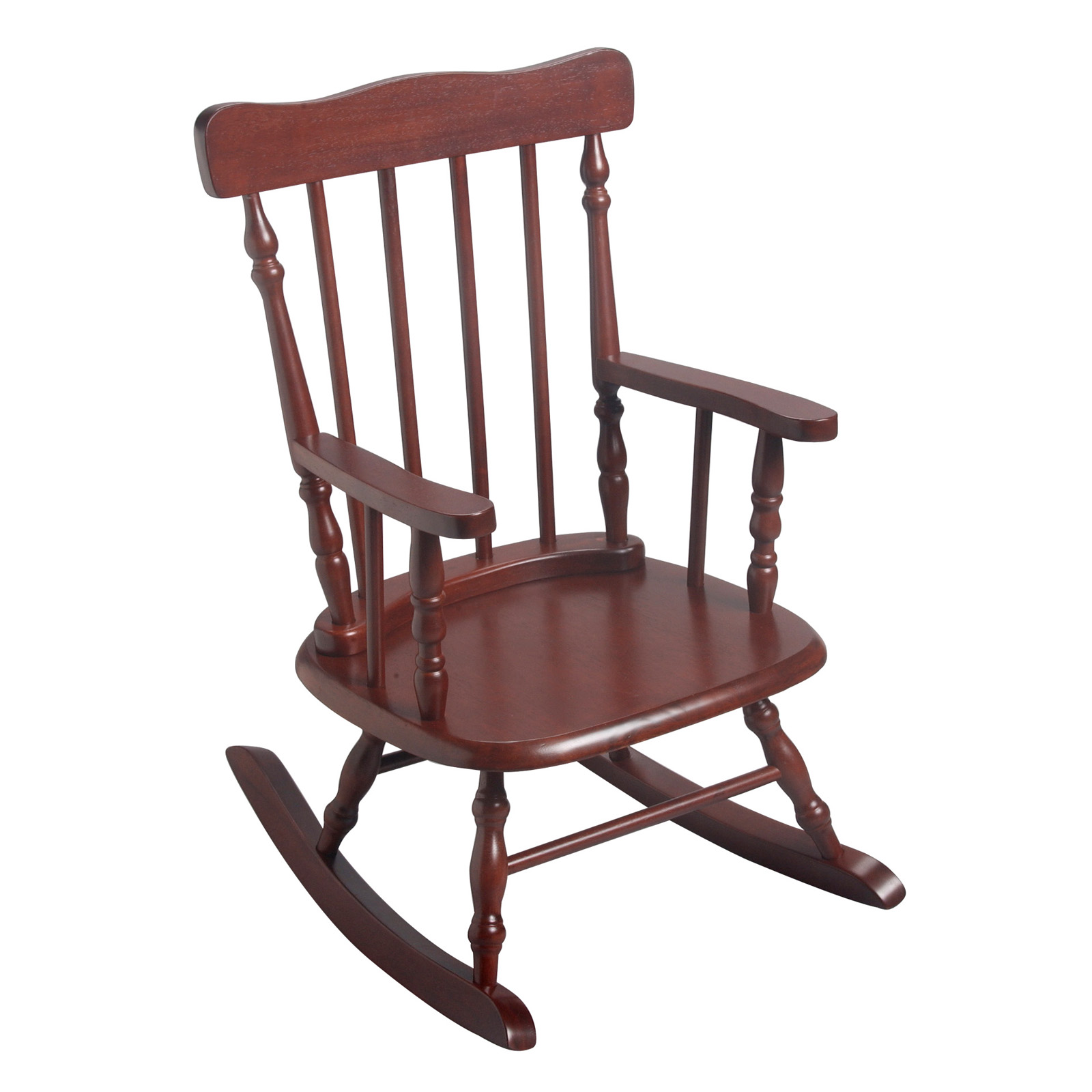 gift mark childrens 3700 rocking chair cherry kids rocking chairs at hayneedle. Black Bedroom Furniture Sets. Home Design Ideas