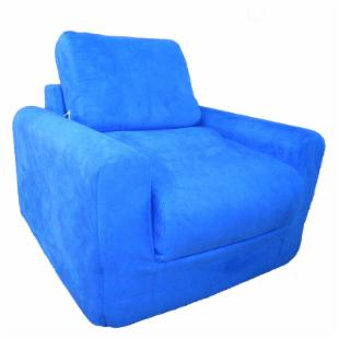 Fun Furnishings Royal Blue Chair Sleeper