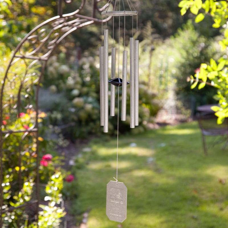 Grace Note Chimes Himalayan Echo 24 in. Wind Chime with Optional Personalization