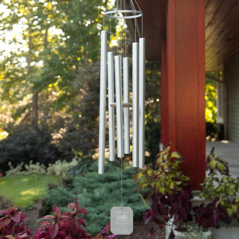 Grace Note Chimes Himalayan Echo 36 in. Wind Chime with Optional Personalization