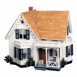 Greenleaf Westville Dollhouse Kit - 1 Inch Scale