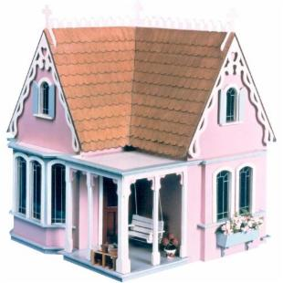 Greenleaf Coventry Cottage Dollhouse Kit  - 1 Inch Scale