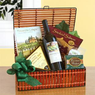 Under the California Sun Gift Basket