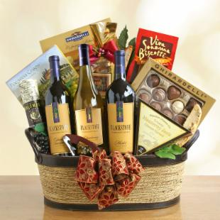 Winemaker's Choice Wine Gift Basket