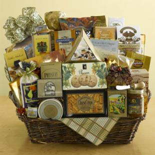 Delicious Gourmet Gift Basket