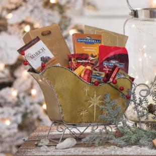 Sweetest Sleigh Ride Gift Basket