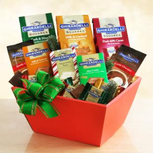 Classic Ghirardelli Gift Basket