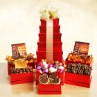 Godiva Tower of Sweets Gift Basket