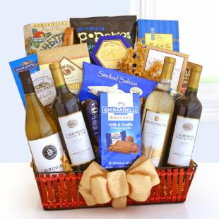 Wine Celebrations Gift Basket