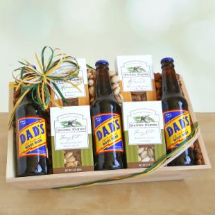 Nuts for Dad Gift Basket