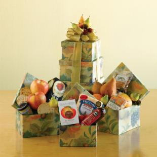 Fresh and Fruity Gift Tower