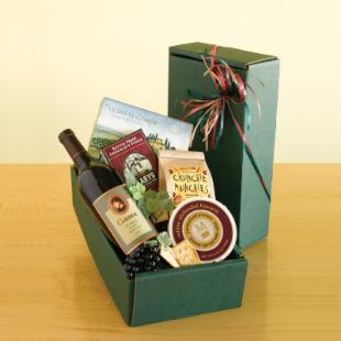 California Classic Red Wine Gift Basket