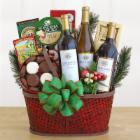 Wine Country Bounty Gourmet Gift Basket