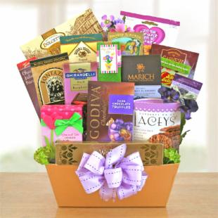 Gourmet Goodies for Mom Gift Basket