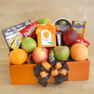 Sweets and Treats Halloween Gift Basket