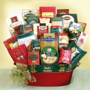 Office Party Celebration Gift Basket