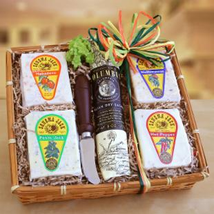 Sonoma Jack Cheese Sampler Gift Basket