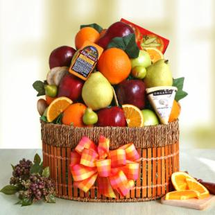 Naturally Delicious Fruit Gift Basket