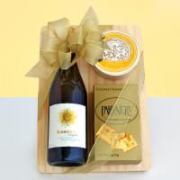 Wine & Cheese Combo Gift Basket