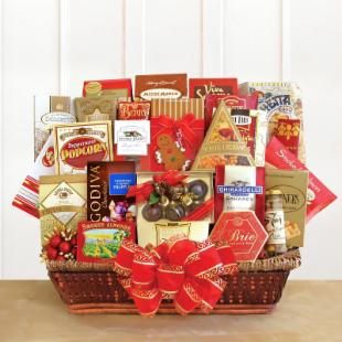 Holiday Bonus Extravaganza Gift Basket