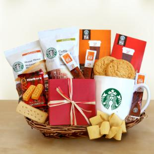 Starbucks Coffee & Inspiration Gift Basket