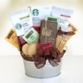  Starbucks Cocoa &amp; Coffee Gift Basket