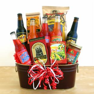 The Way to His Heart Gift Basket