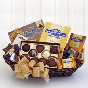 Ghirardelli Classic Gift Basket