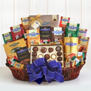 Ghirardelli Ultimate Indulgence Gift Basket