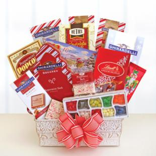 Sweet &amp; Minty Winter Delights Gift Basket