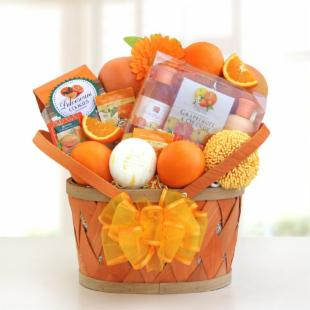 Citrus Spa Sensations Gift Basket