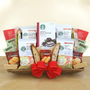 Starbucks Holiday Galaxy Gift Basket