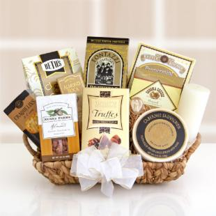 Memories Shared Sympathy Basket Gift Basket