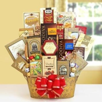 The Dazzling Gourmet Gift Basket