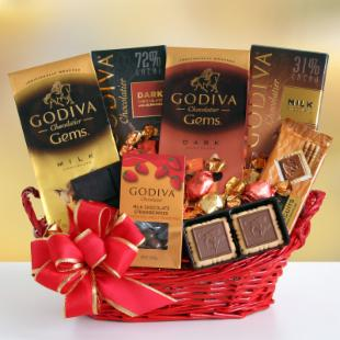 Godiva Be Mine Gift Basket