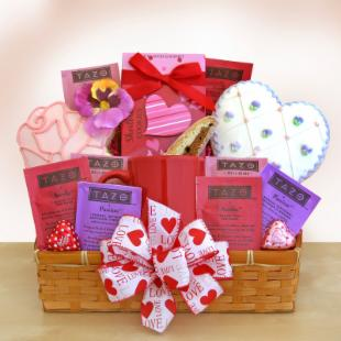 Valentine Sugar Cookie Delights Gift Basket