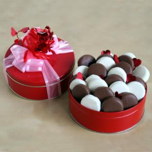 Chocolate and Delicious Valentine Gift Tin